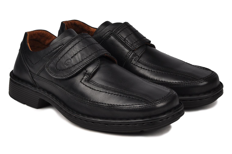 Chaussures à scratch Josef Seibel Bradfjord 06 Noir vue 3/4