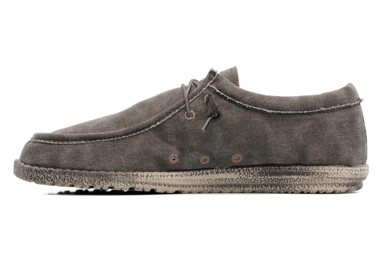 Sneakers DUDE Wally Grijs voorkant