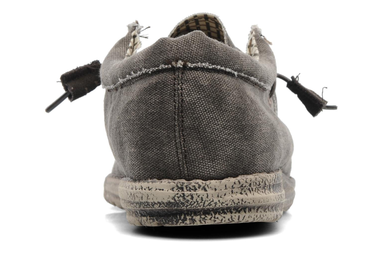 Sneakers DUDE Wally Grijs rechts