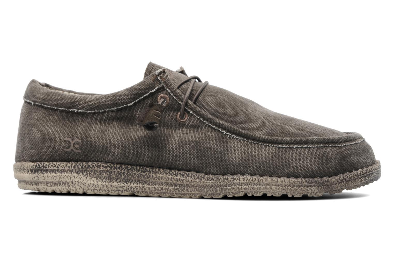 Sneakers DUDE Wally Grijs achterkant