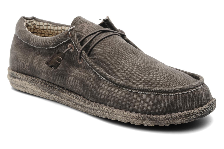 Sneakers DUDE Wally Grijs detail