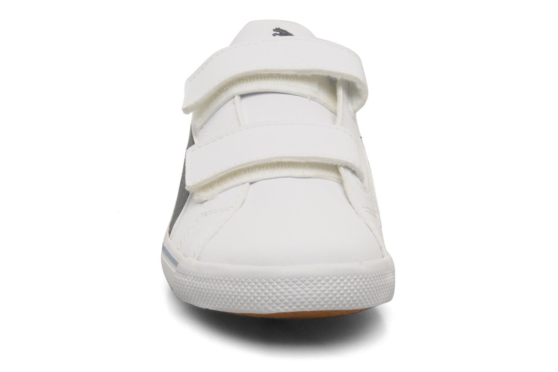 Sneaker Puma Benecio l kids weiß schuhe getragen