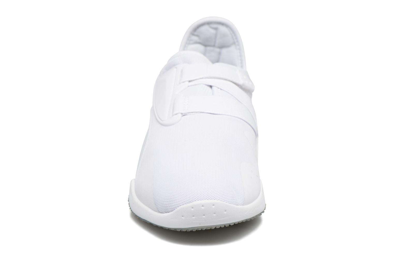 Sneaker Puma Mostro mesh weiß schuhe getragen