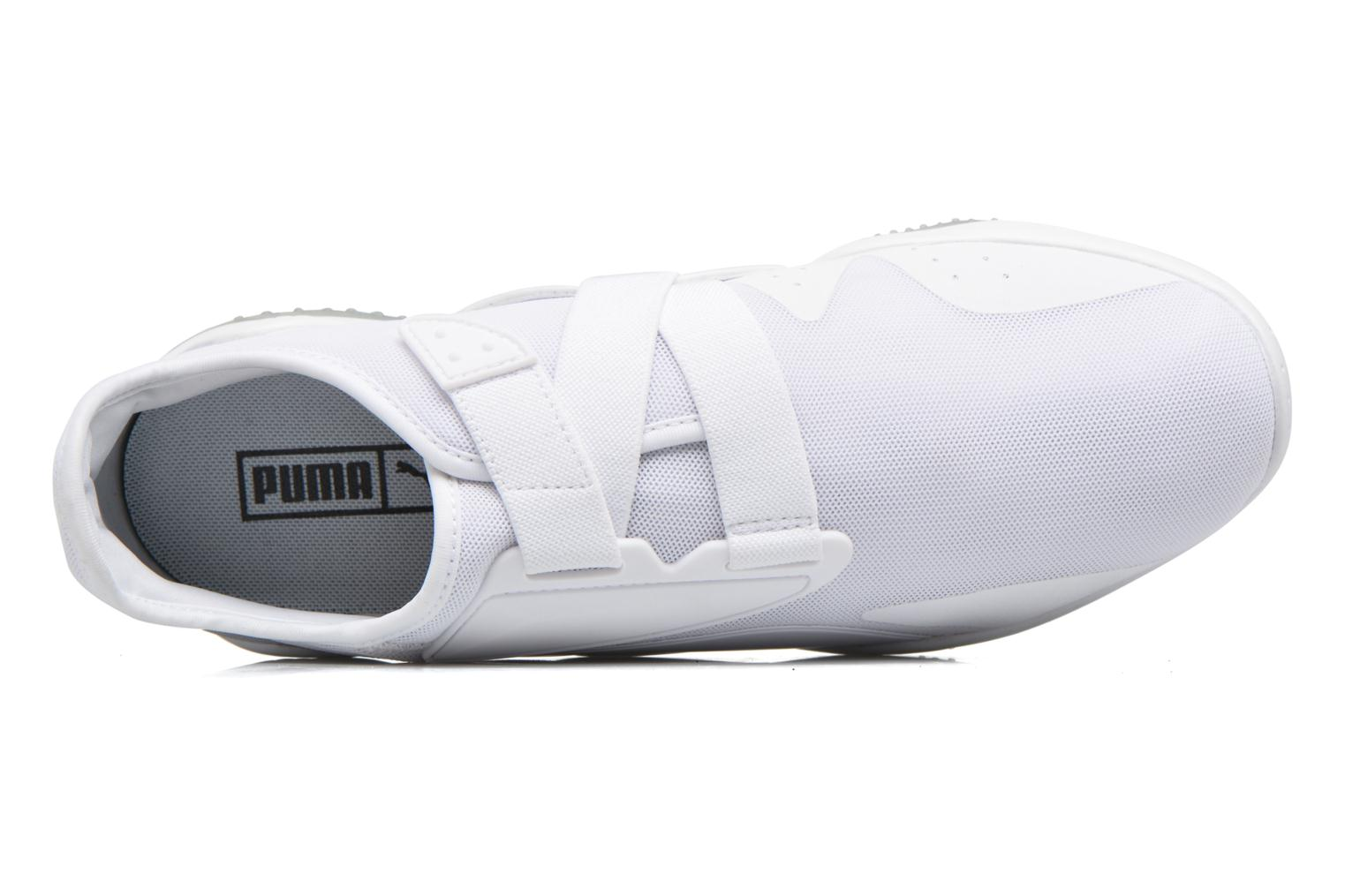 Trainers Puma Mostro mesh White view from the left