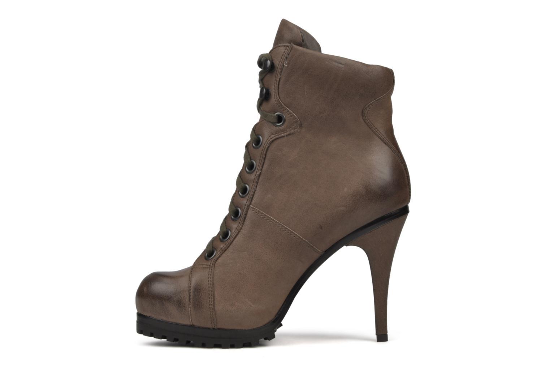 Bottines et boots Ash Patty Marron vue face