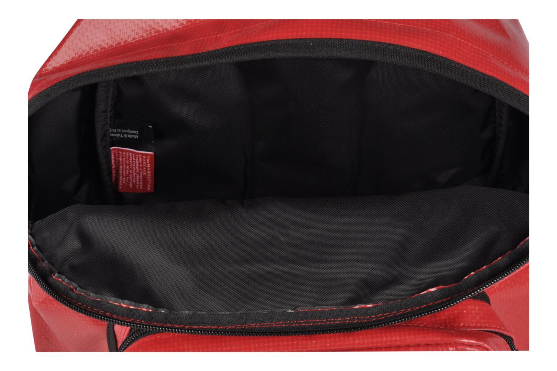 Zaini Manhattan Portage Big Apple Backpack MD Rosso immagine posteriore