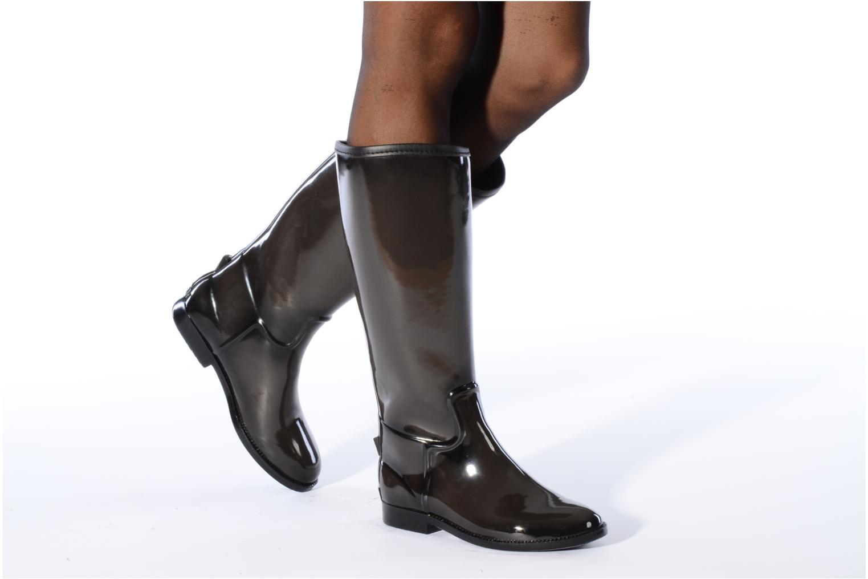 Chaussures de sport Be Only Cavalière Noir vue bas / vue portée sac