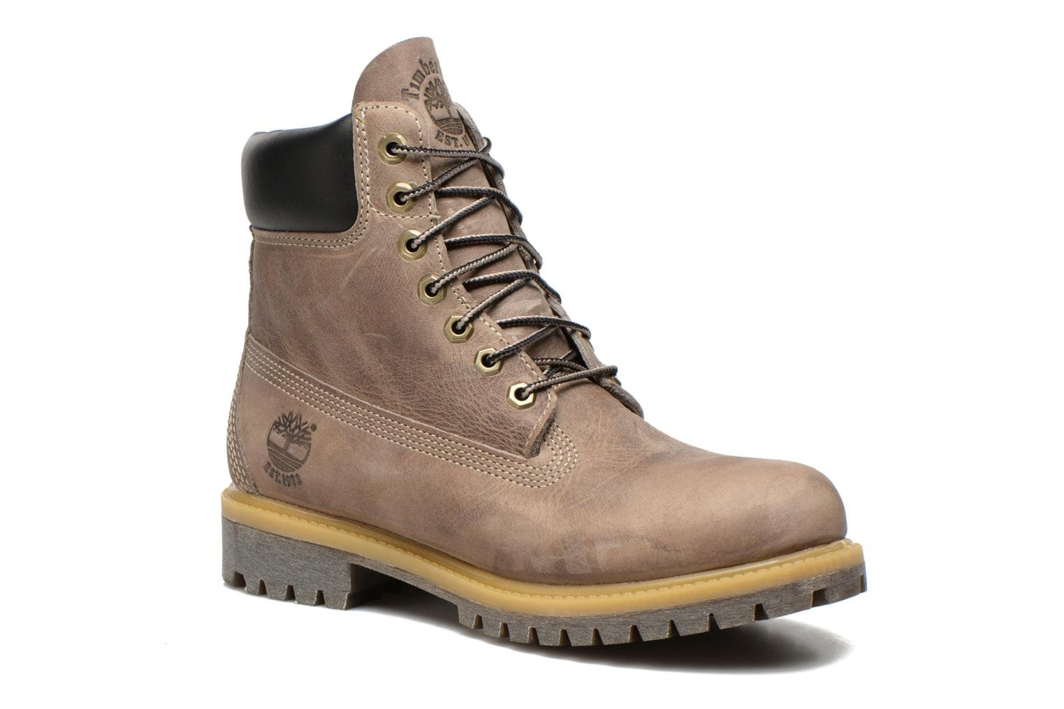Bottines et boots Timberland 6in premium boot Gris vue détail/paire