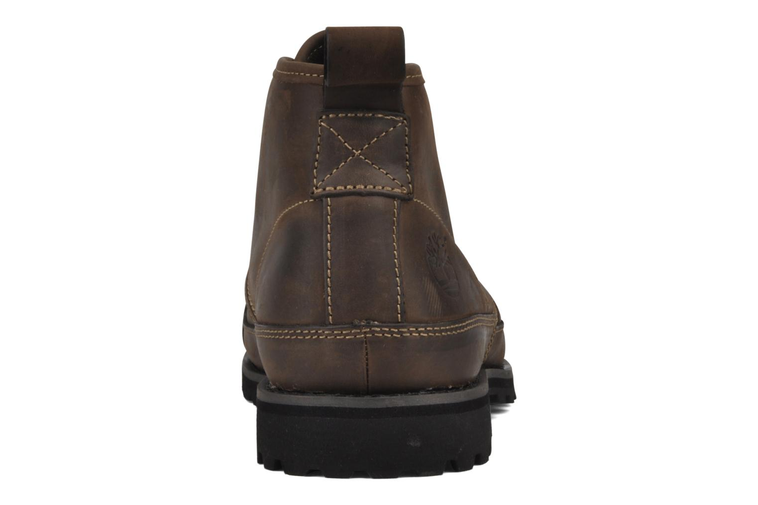 Chaussures à lacets Timberland Earthkeepers Barentsburg Leather Chukka Marron vue droite