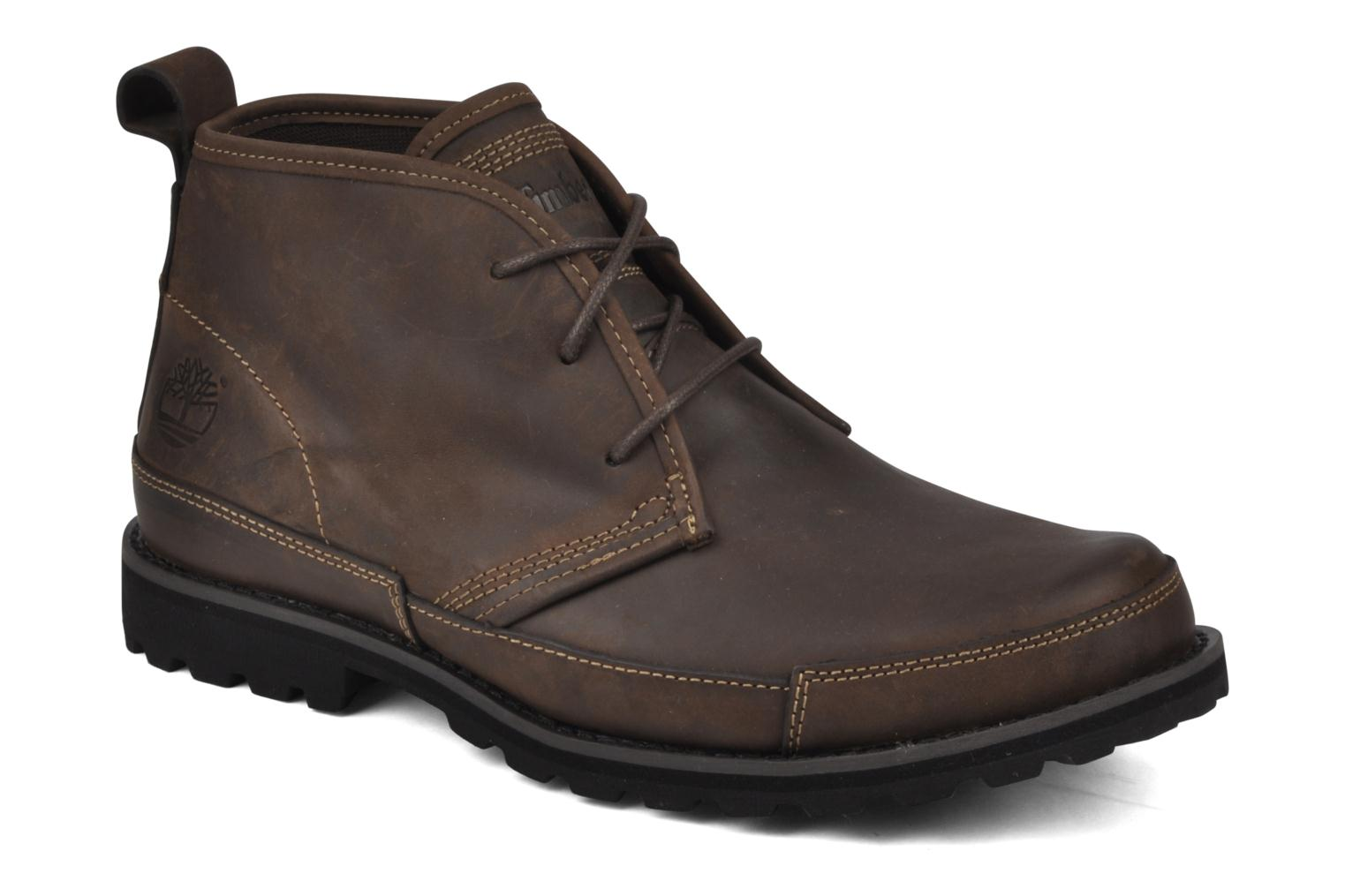 Chaussures à lacets Timberland Earthkeepers Barentsburg Leather Chukka Marron vue détail/paire