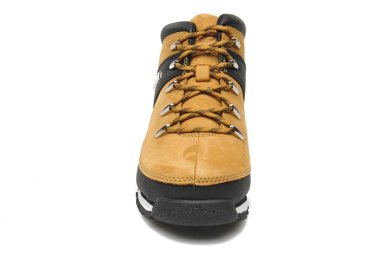 Bottines et boots Timberland Euro sprint Kids Beige vue portées chaussures
