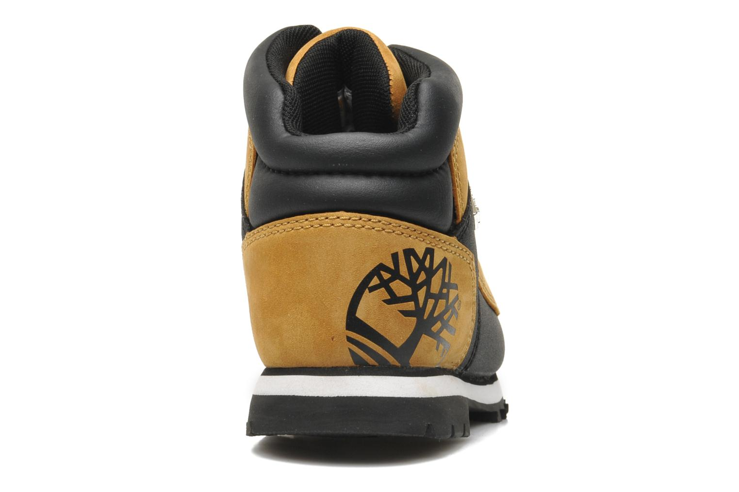 Ankle boots Timberland Euro sprint Kids Beige view from the right