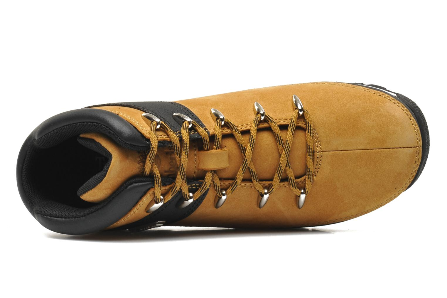 Ankle boots Timberland Euro sprint Kids Beige view from the left