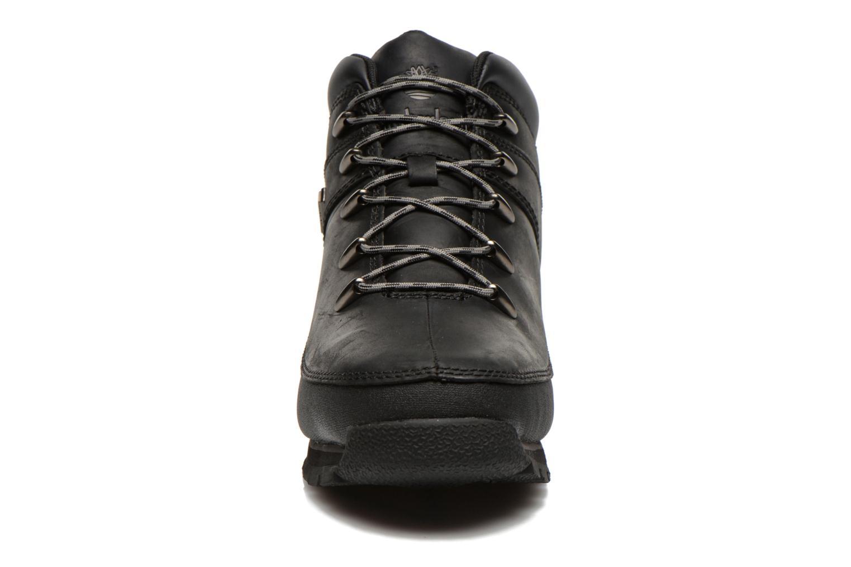Bottines et boots Timberland Euro sprint Kids Noir vue portées chaussures