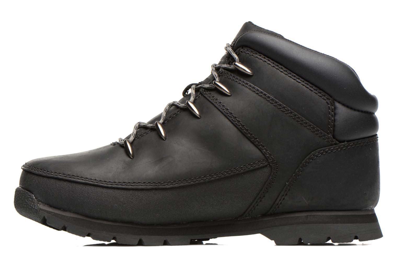 Bottines et boots Timberland Euro sprint Kids Noir vue face