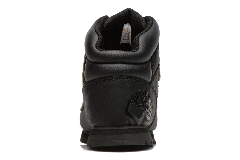 Bottines et boots Timberland Euro sprint Kids Noir vue droite