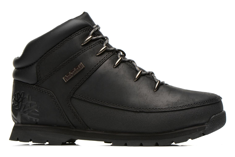 Bottines et boots Timberland Euro sprint Kids Noir vue derrière