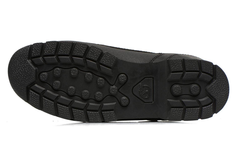 Bottines et boots Timberland Euro sprint Kids Noir vue haut