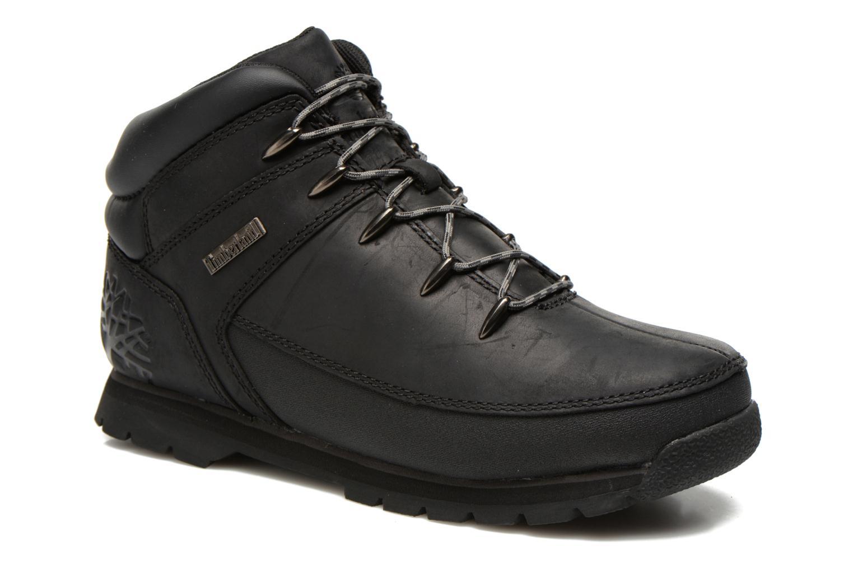 Bottines et boots Timberland Euro sprint Kids Noir vue détail/paire
