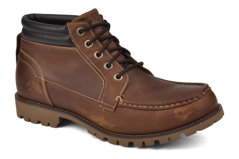 Bottines et boots Timberland 5I HS Tan flash tan Marron vue détail/paire