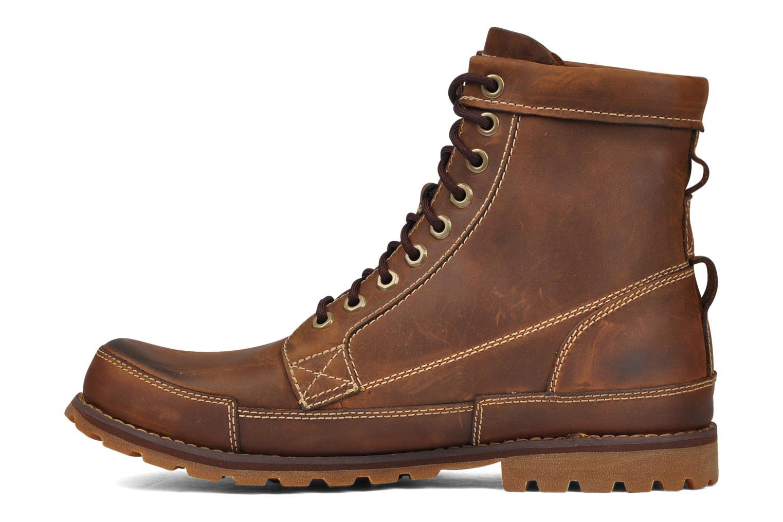 Boots en enkellaarsjes Timberland Earthkeepers Burn Bruin voorkant