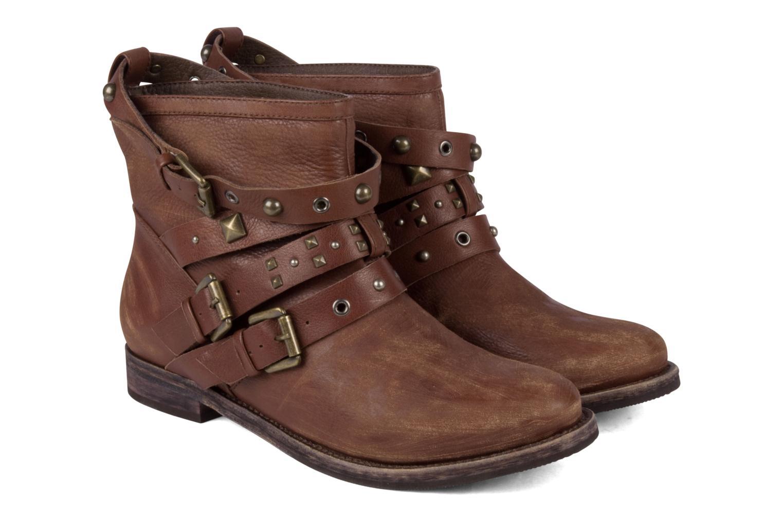 Bottines et boots Studio TMLS Teresina Marron vue 3/4
