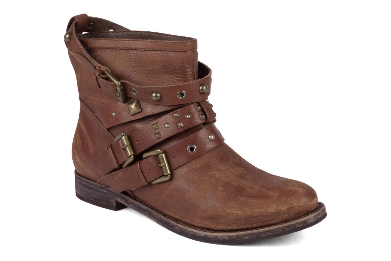 Bottines et boots Studio TMLS Teresina Marron vue détail/paire