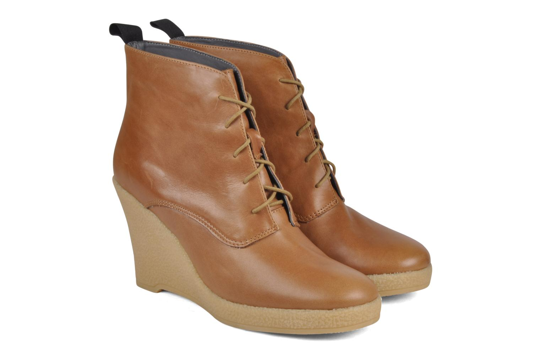 Bottines et boots Mellow Yellow Ibizenca Marron vue 3/4