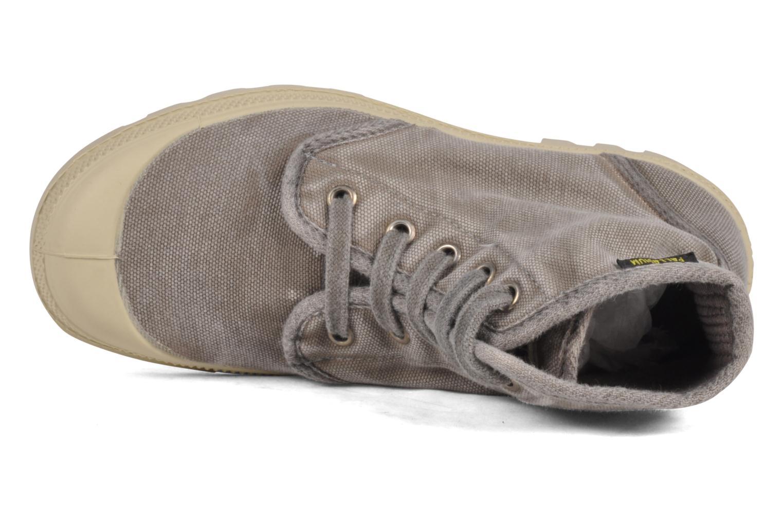 Sneakers Palladium Pampa high vnt 14466 Grigio immagine sinistra