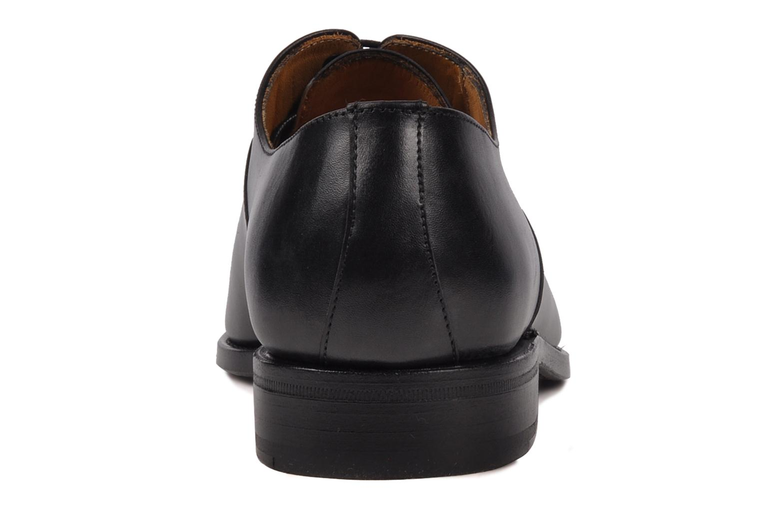 Lace-up shoes Finsbury Harlow Black view from the right