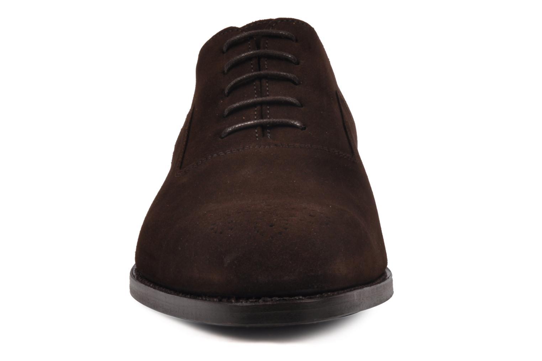 Chaussures à lacets Finsbury Harlow Marron vue portées chaussures