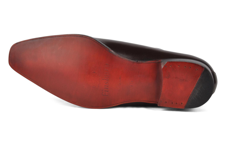 Chaussures à lacets Finsbury Broadway Marron vue haut