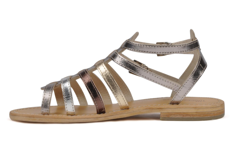 Sandali e scarpe aperte Les Tropéziennes par M Belarbi Hic Argento immagine frontale