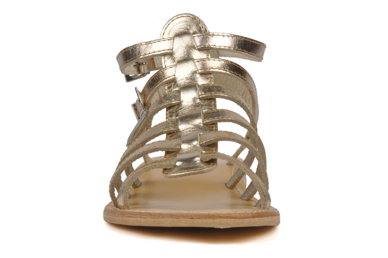 Sandali e scarpe aperte Les Tropéziennes par M Belarbi Hic Oro e bronzo modello indossato