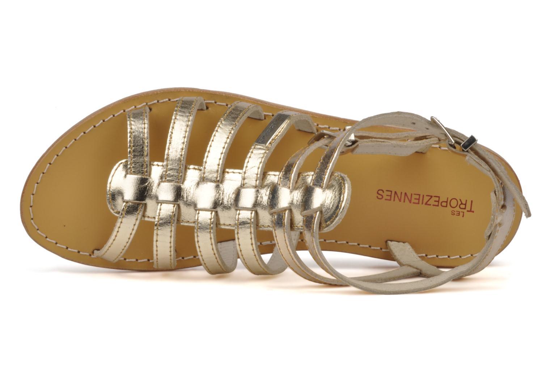 Sandali e scarpe aperte Les Tropéziennes par M Belarbi Hic Oro e bronzo immagine sinistra