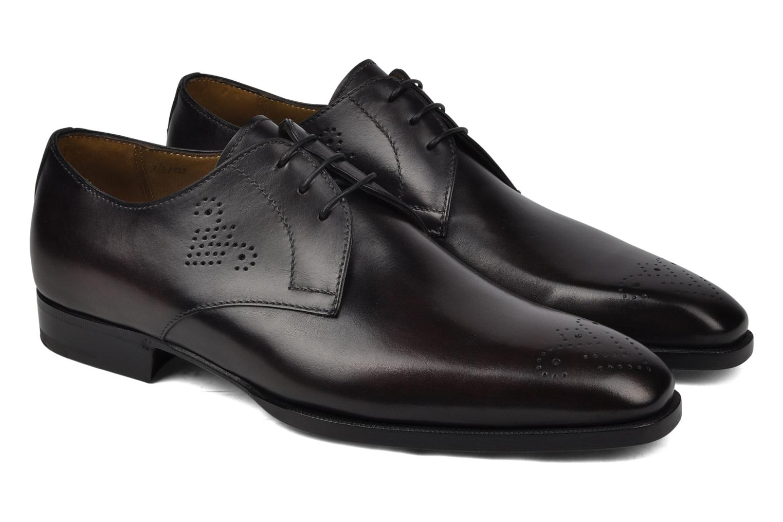 Zapatos con cordones StefanoBi Fondi Negro vista 3/4