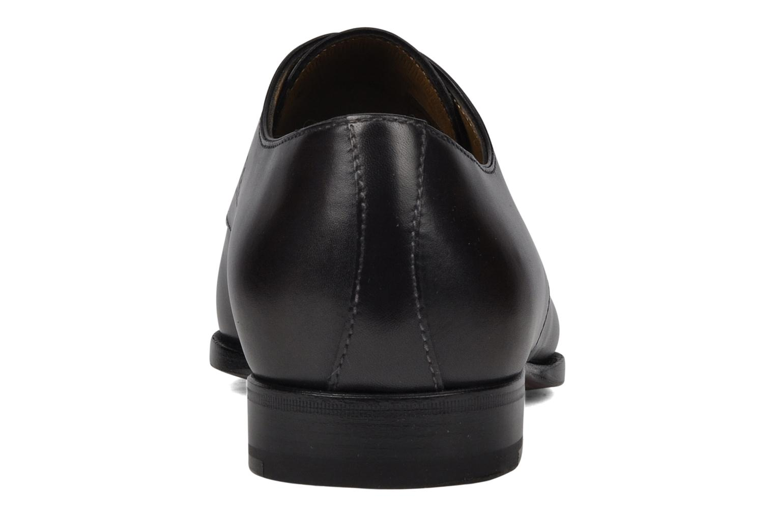 Lace-up shoes StefanoBi Fondi Black view from the right