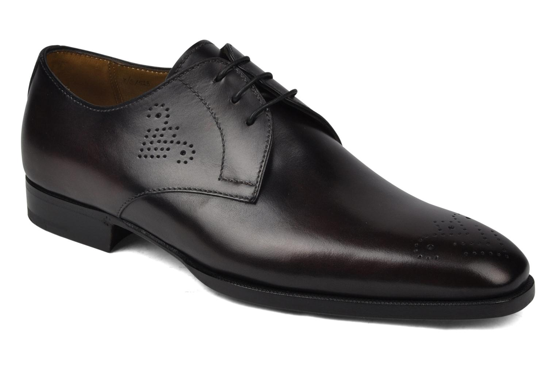 Zapatos con cordones StefanoBi Fondi Negro vista de detalle / par