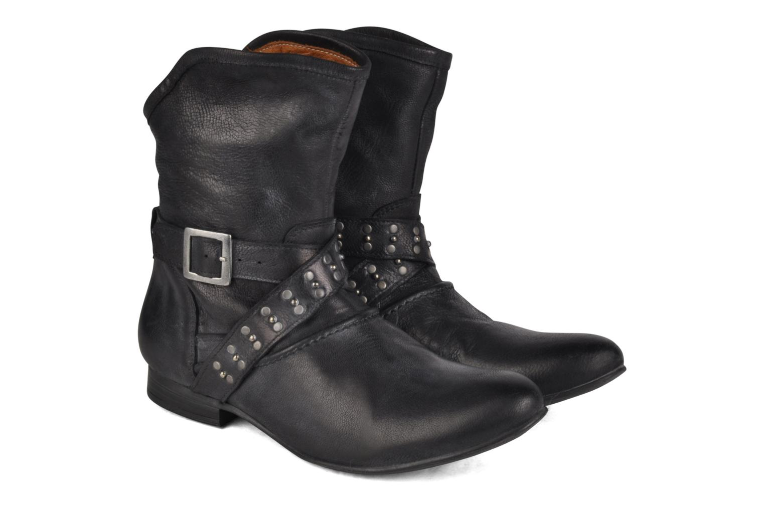Ankle boots Koah Kristy Black 3/4 view