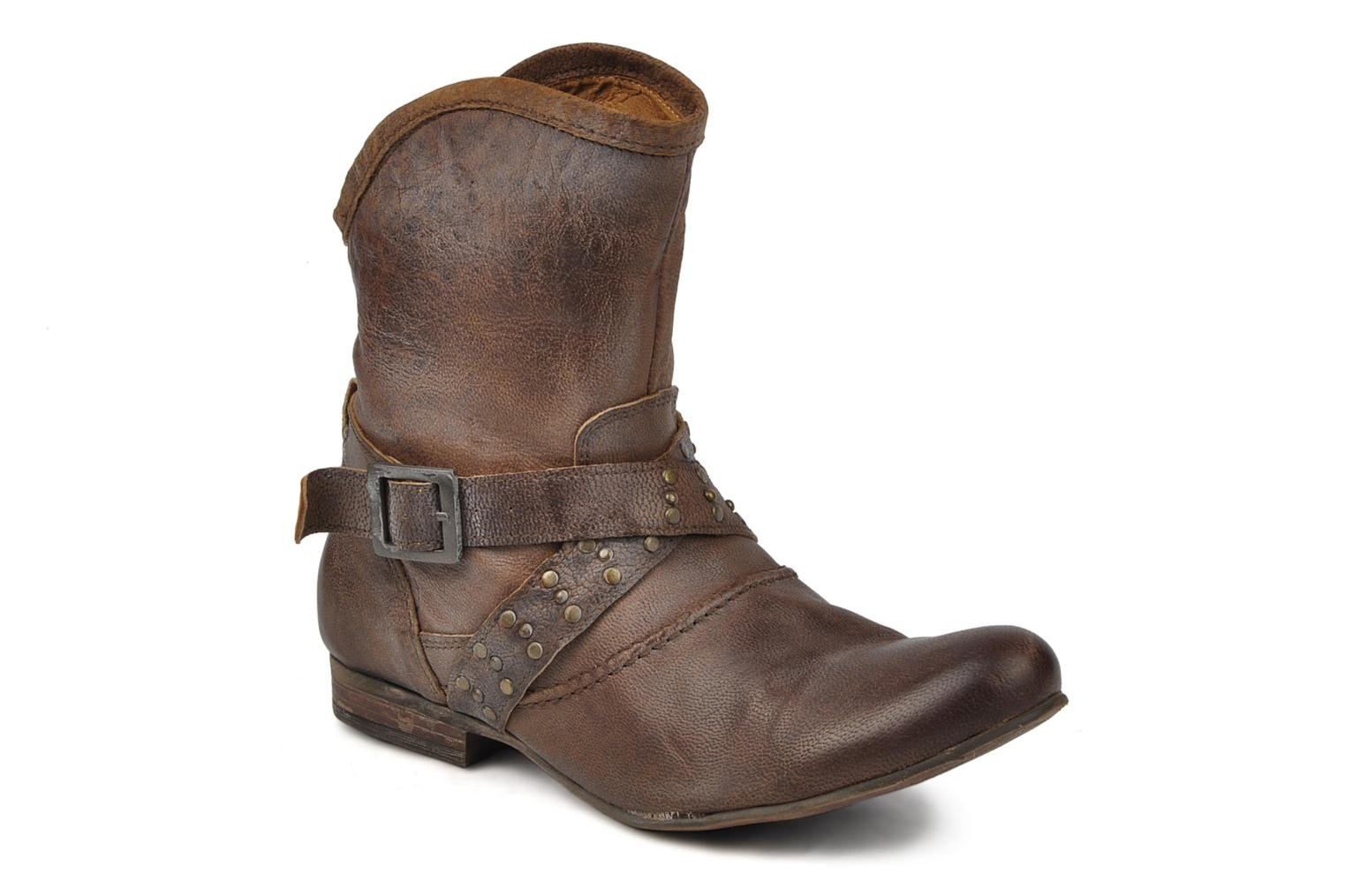 Ankle boots Koah Kristy Brown detailed view/ Pair view