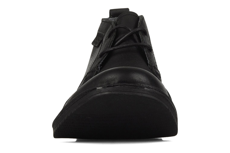 Chaussures à lacets Kickers Jecho Noir vue portées chaussures