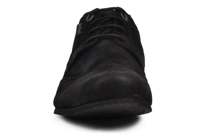 Chaussures à lacets Kickers Koncept Noir vue portées chaussures