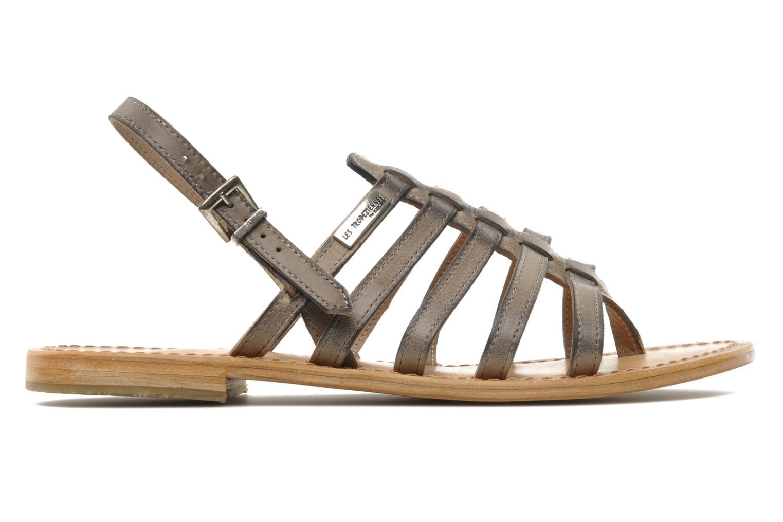 Sandales et nu-pieds Les Tropéziennes par M Belarbi Heriber Gris vue derrière