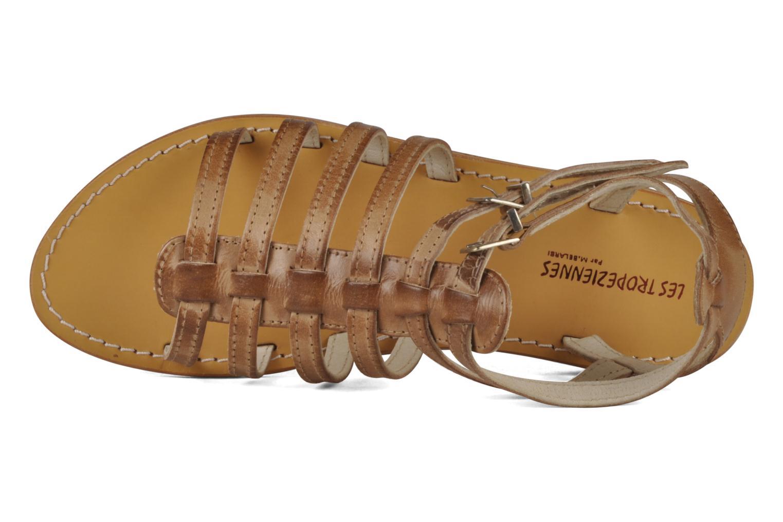 Sandales et nu-pieds Les Tropéziennes par M Belarbi Hicare Beige vue gauche
