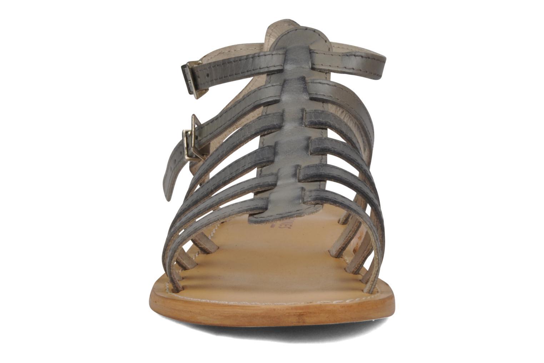 Sandalen Les Tropéziennes par M Belarbi Hicare grau schuhe getragen
