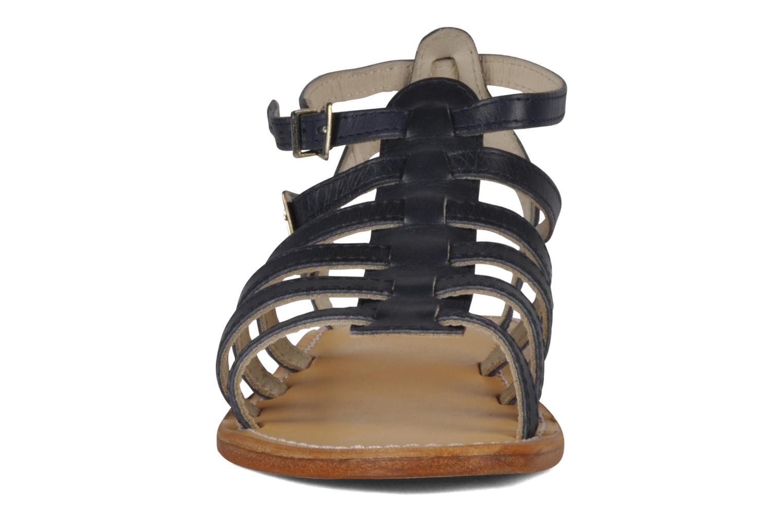 Sandales et nu-pieds Les Tropéziennes par M Belarbi Hicare Bleu vue portées chaussures