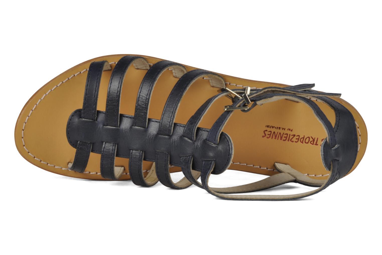 Sandales et nu-pieds Les Tropéziennes par M Belarbi Hicare Bleu vue gauche