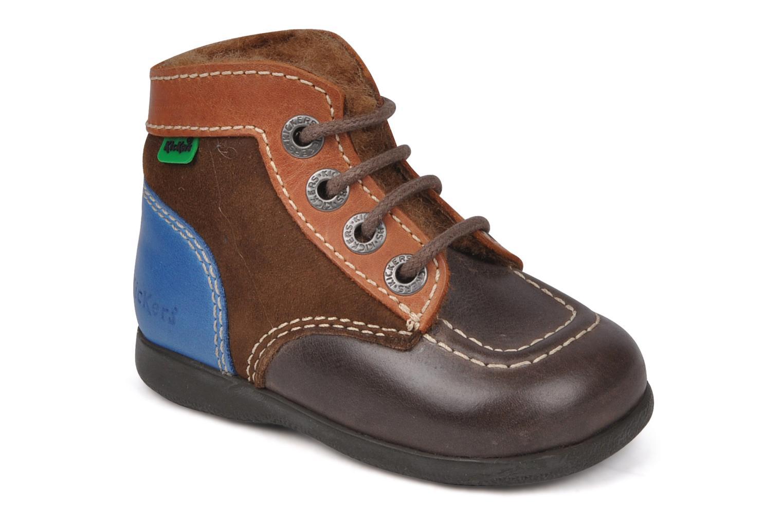 Stiefeletten & Boots Kickers Babyski braun detaillierte ansicht/modell