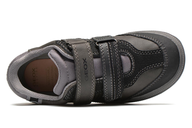 Sneaker Geox J elvis b grau ansicht von links