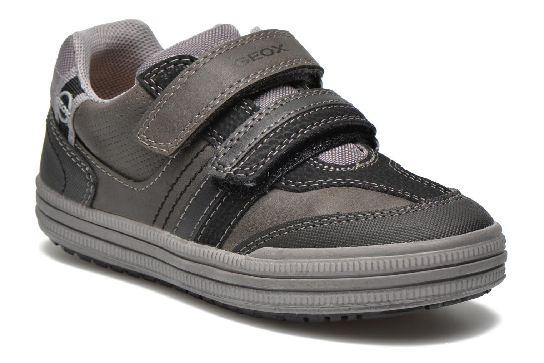 Sneaker Geox J elvis b grau detaillierte ansicht/modell